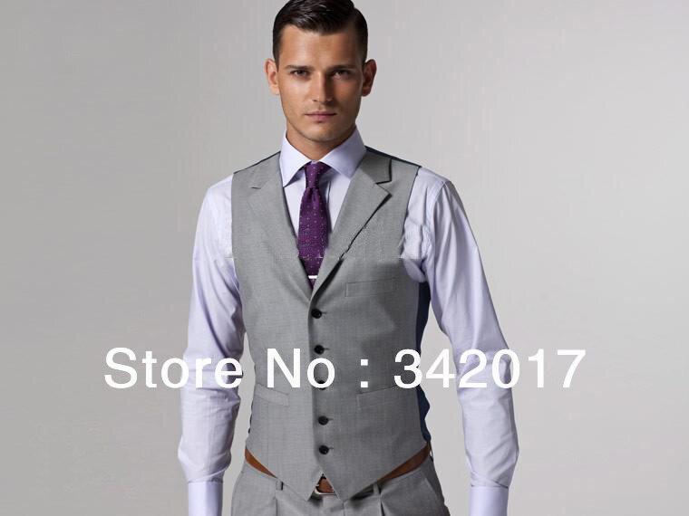 Grey Suit Vest And Pants | My Dress Tip