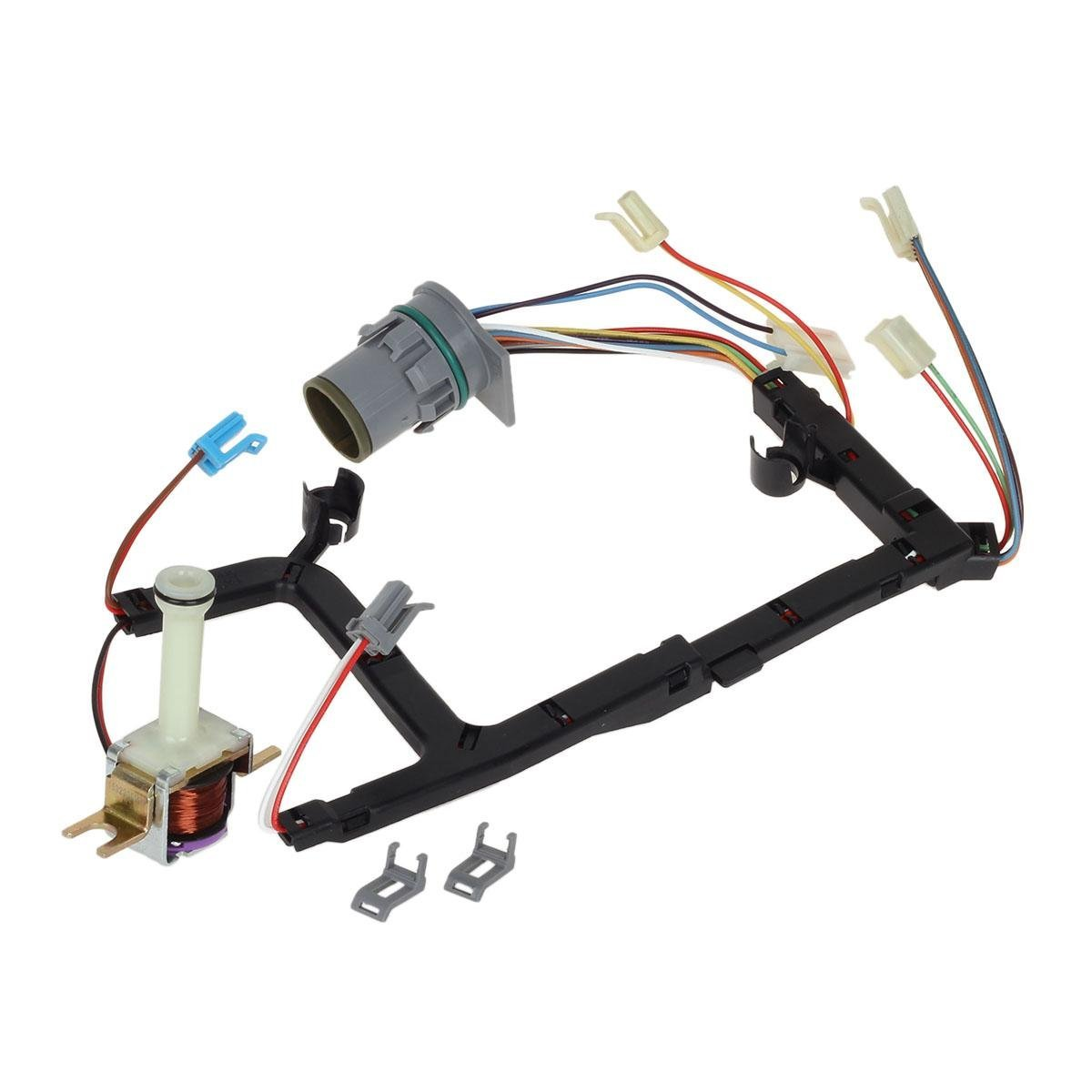 hight resolution of universal 4l60e transmission solenoid internal wire harness with tcc for 1993 2002 gm