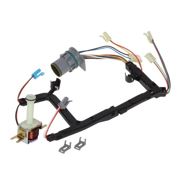 Universal 4L60E Transmission Solenoid Internal Wire Harness with TCC on obd2 to obd1 jumper harness, gm wiring gauge, gm alternator harness, gm wiring alternator, gm wiring connectors, radio harness,