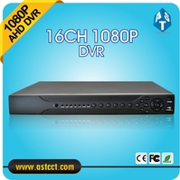 H 264 Hybrid 16CH NVR Home 1080P AHD DVR Recorder 16 Channel 2 SATA AHD DVR