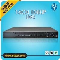 H 264 Hybrid 16CH NVR Home 1080P AHD DVR Recorder 16 Channel 2 SATA AHD DVR
