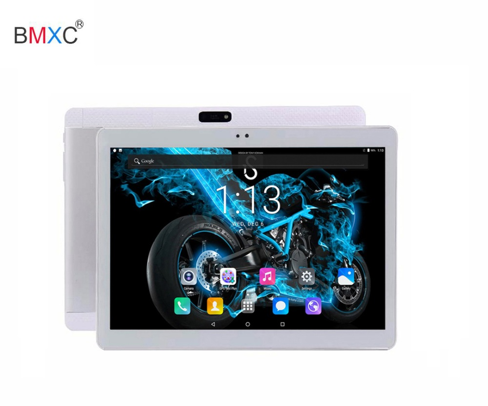 BMXC Android 7.0 3G GPS tablet pc  child gift 10.1 inch 1280X800 HD IPS Screen 10 Octa core 4GB RAM 32/64GB ROM support FM Wifi bmxc new 2 5d screen 10 inch mtk8752 octa core 3g wcdma tablet pc 4g ram 32g rom 1280 800 ips android 7 0 wifi bluetooth tablets