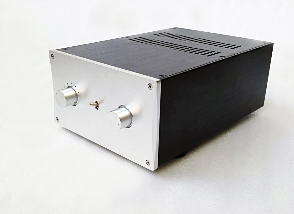 BZ2212B All Aluminum Power Amplifier Chassis HiFi Preamplifier Case DIY Audio Shello 220 120 311MM