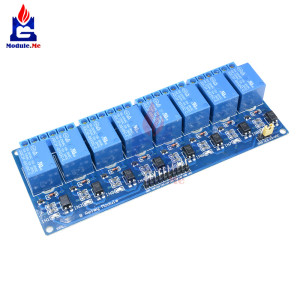 5V 8-Channel Relay Module Boar