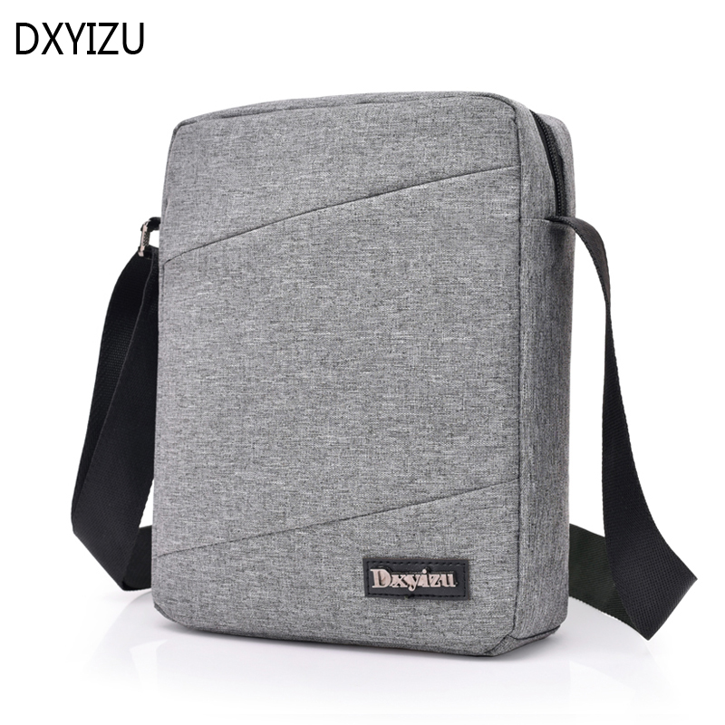 DXYIZU Brand Men Shoulder Bag Oxford Crossbody Bags Waterproof Male Messenger Bag Women Small Travel Business Bags