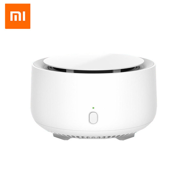Original Xiaomi Mijia Movable Portable Mosquito Repellent Killer Timing No Heating Fan Drive with led light use 90 day
