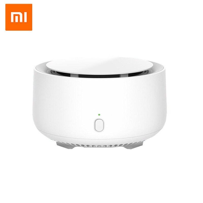 Original Xiaomi Mijia móvil portátil repelente de mosquitos asesino sincronización sin calefacción Unidad de ventilador con luz led uso 90 día