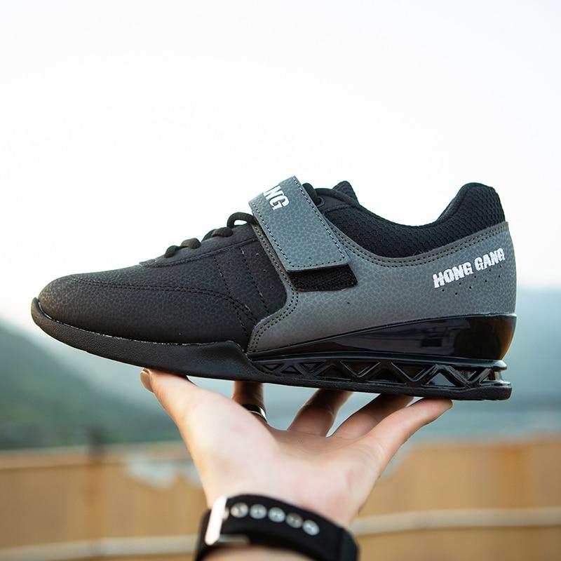 Agachamento sapatos barbell puxar duro sapatos de levantamento de peso ginásio formação puxar duro profissional indoor exercício tênis