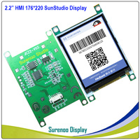 """2.2"""" 176*220 HMI Intelligent Smart USART UART Serial TFT LCD Module Display Panel for Arduino without Touch Panel"""