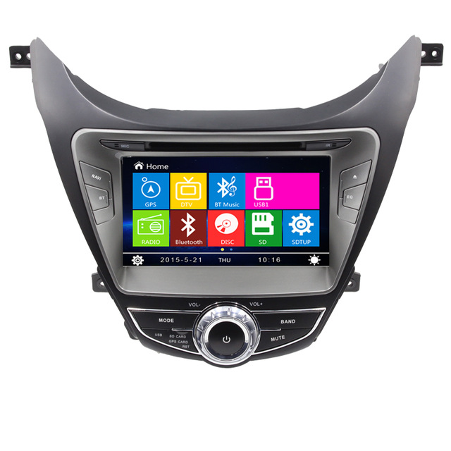 Free Shipping Wince 6 0 New Car Dvd Player With Gps Navigation System For Hyundai Elantra Avante