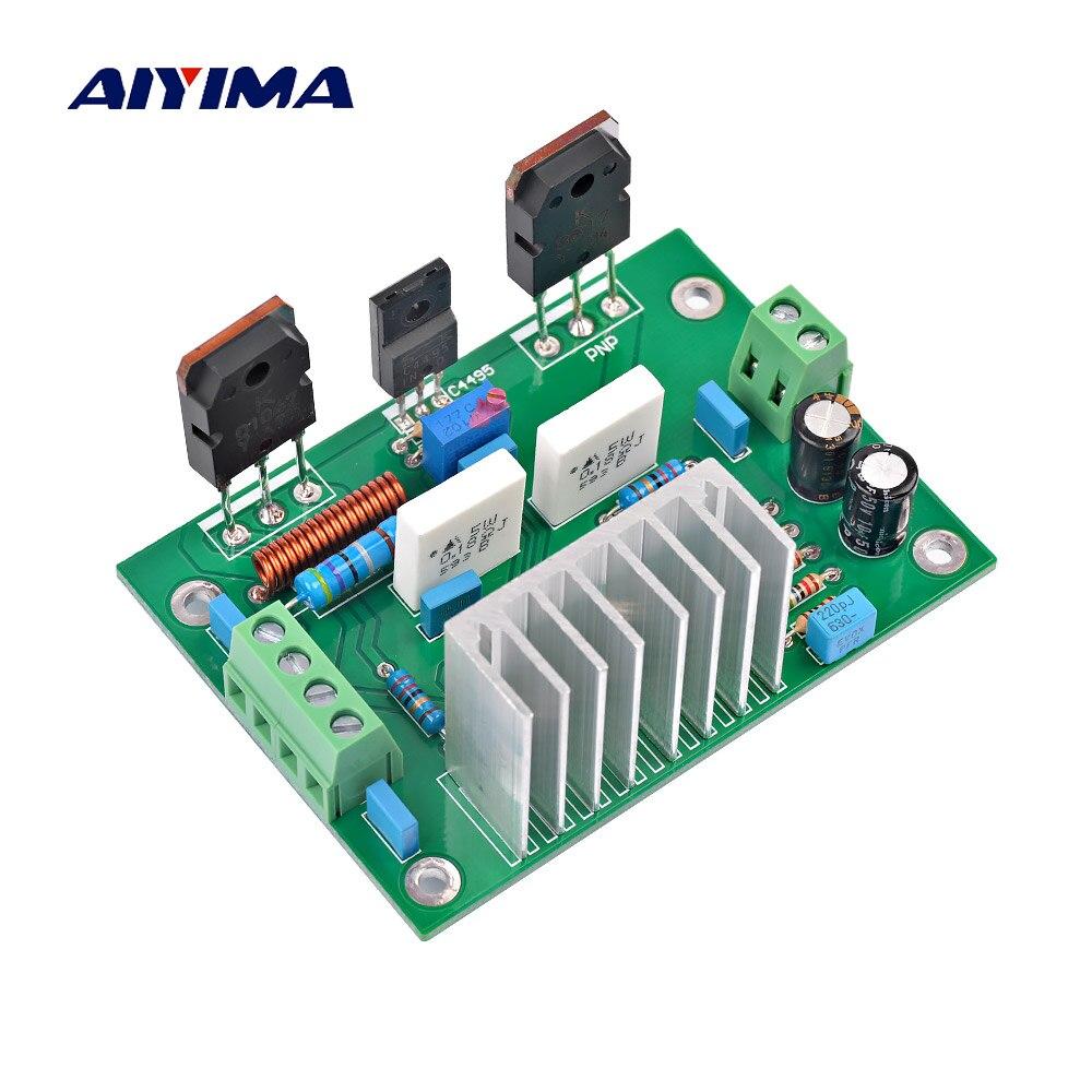 Assembled UPC1298V Mono Amplifier Board DC±20v-±46v Class A Power Audio AMP 80W