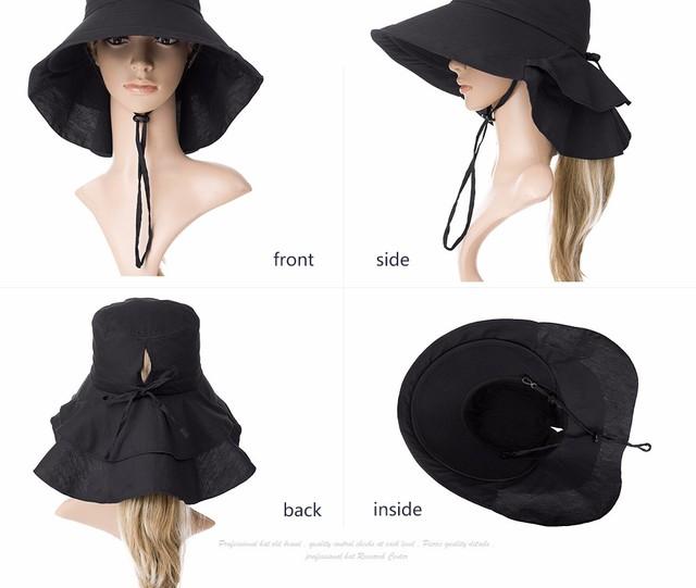 Women's Beach Hat With Brims