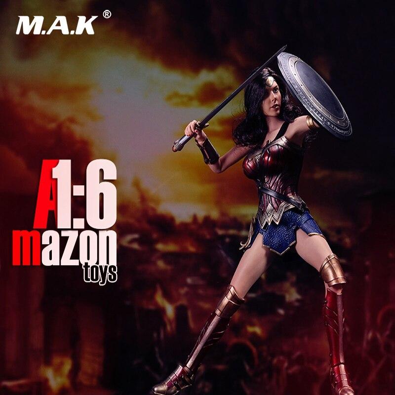 1/6 масштаб изображения женский полный набор Wonder Woman режим игрушки включены Head & Body & Одежда Набор для коллекции подарок