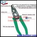 Frete Grátis ProsKit 8PK-326 Professional Stripper de Fibra Óptica De Precisão, descascador de fios, cortador de fibra Óptica, tira elétrica