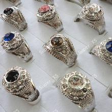 50 шт мужские посеребренные кольца бесплатная доставка rl142