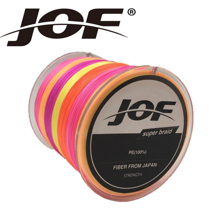 JOF <font><b>8</b></font> <font><b>Strands</b></font> 300M Super Strong Japan Multifilament PE <font><b>8</b></font> Braided <font><b>Fishing</b></font> <font><b>Line</b></font> 15 20 30 40 50 60 80 120 150 200LB 8PLYS