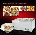 1 шт. FY-3V электрическая сохраняющая тепло машина tangchi даже кухонная плита для приготовления закусок