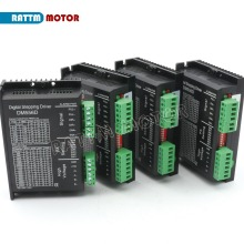 EU Delivery! 4PC DM556D Digital stepper motor driver 5.6A 256 microstep High performance  design fit nema17 to nema 23 motor CNC