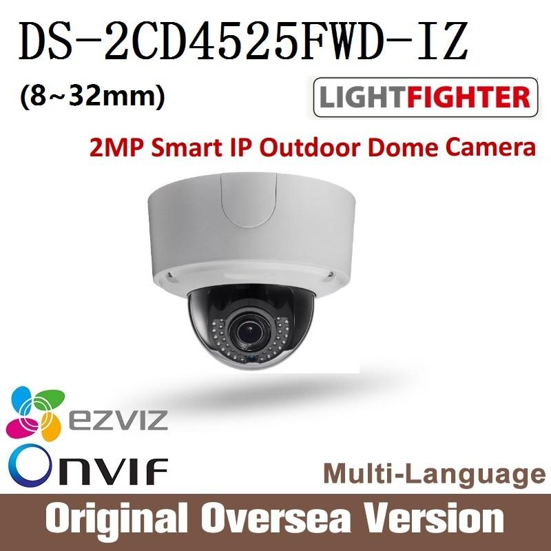 HIKVISION DS-2CD4525FWD-IZ 8-32mm Ip dome Camera 1080p Poe Ip67 H265 WDR Onvif original English Version upgrade support 2017 cd диск fleetwood mac rumours 2 cd