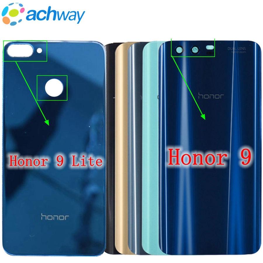 Case Battery-Cover Glass Honor Door Huawei 9-Lite Original New Rear