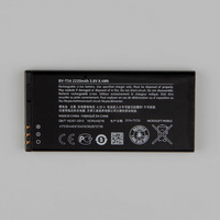 New Original Nokia BV T5A Phone Battery For Nokia Lumia 730 735 738 Superman RM1038 RM1040