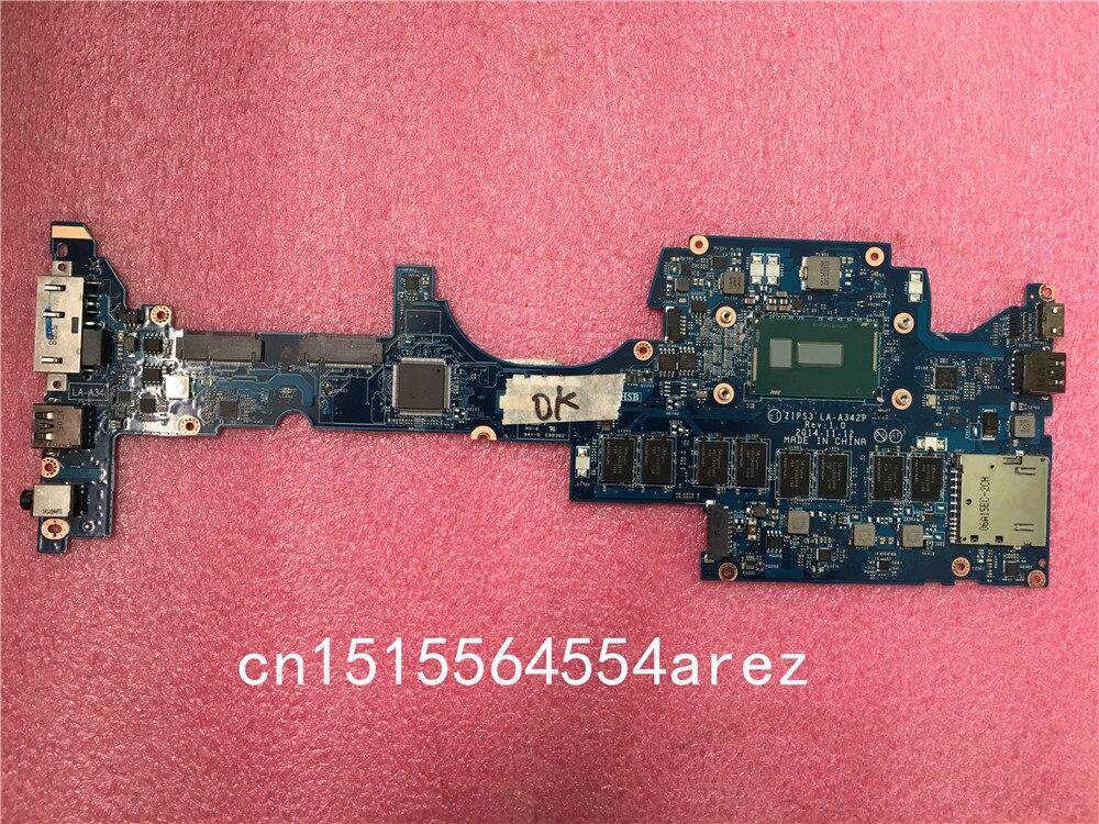Original laptop Lenovo ThinkPad YOGA 12 motherboard mainboard i3 i3-5005U CPU 4G FRU 00HT789 цена