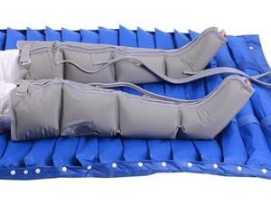Image 2 - 電動エアー圧縮マッサージレッグラップ足の足首ふくらはぎのマッサージ機痛み疲労緩和血液循環を促進