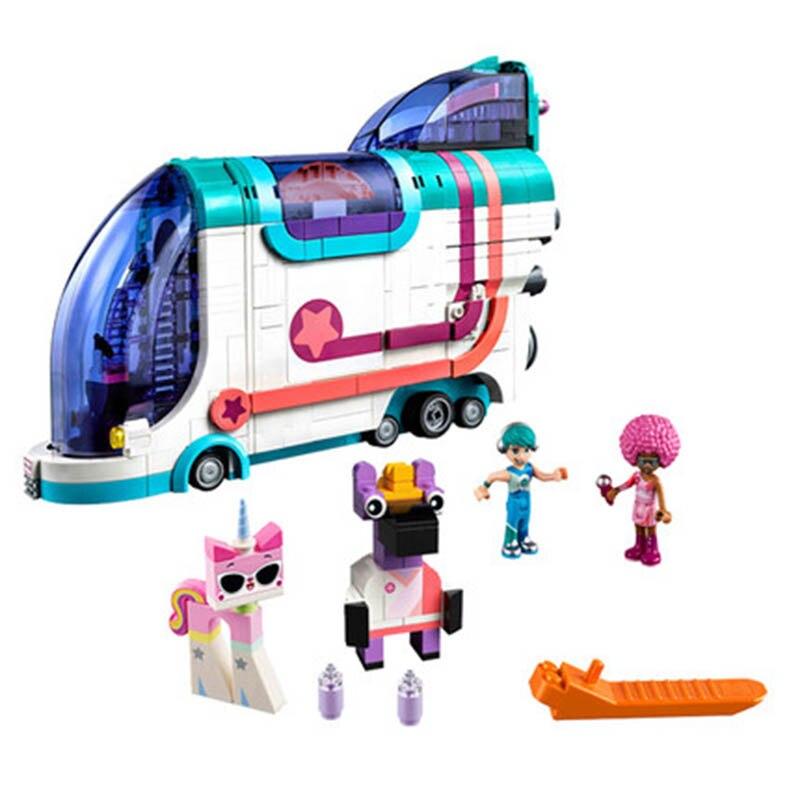 Prévente films 2 Pop-Up partie Bus Set blocs de construction briques jouets éducatifs pour enfants cadeau
