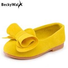 Детская обувь ярких цветов, обувь принцессы для девочек, модные весенне-летние сандалии для девочек 1-10 лет, детская обувь с бантом, CSH016