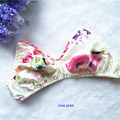 100% silk underwear,100% natural silk double faced bras,pure silk bra wireless,silk print bra ultra-thin