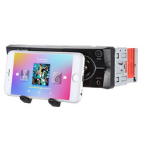Universal Car MP3 Player FM Radio Tuner USB SD Bluetooth Phone Holder