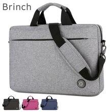 Новинка 2020, брендовая сумка Brinch, сумка для ноутбука 13, 14, 15, 15,6 дюймов, сумка мессенджер для MacBook air pro, бесплатная доставка 330