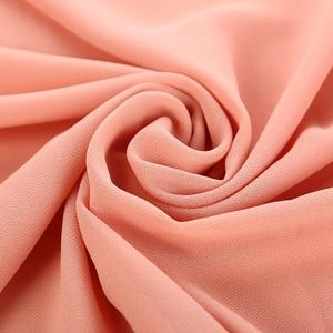 Image 3 - M MISM 40 kolory muzułmańskie szale wiskoza kaszmirowy szalik kobiety szyfonowy hidżab długi solidny szal kaszmirowy szalik na głowę Foulard Femme