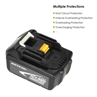 Meterk BL1850 18V 4.0Ah /5.0Ah Power Tools Battery High Capacity Recharcheable Lithium replacement Battery Pack for MAKITA