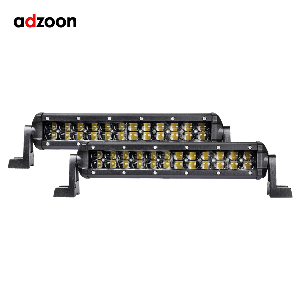 ADZOON Super Slim 8D 12 Inch 72W Led Light Bar Spot Single Row Auto Work Light for Jeep ATV Lada Niva Off Road 12V 24V Led Bar stainless steel toilet paper holder heavy duty suction wall mount toilet tissue paper holder bathroom roll paper holder