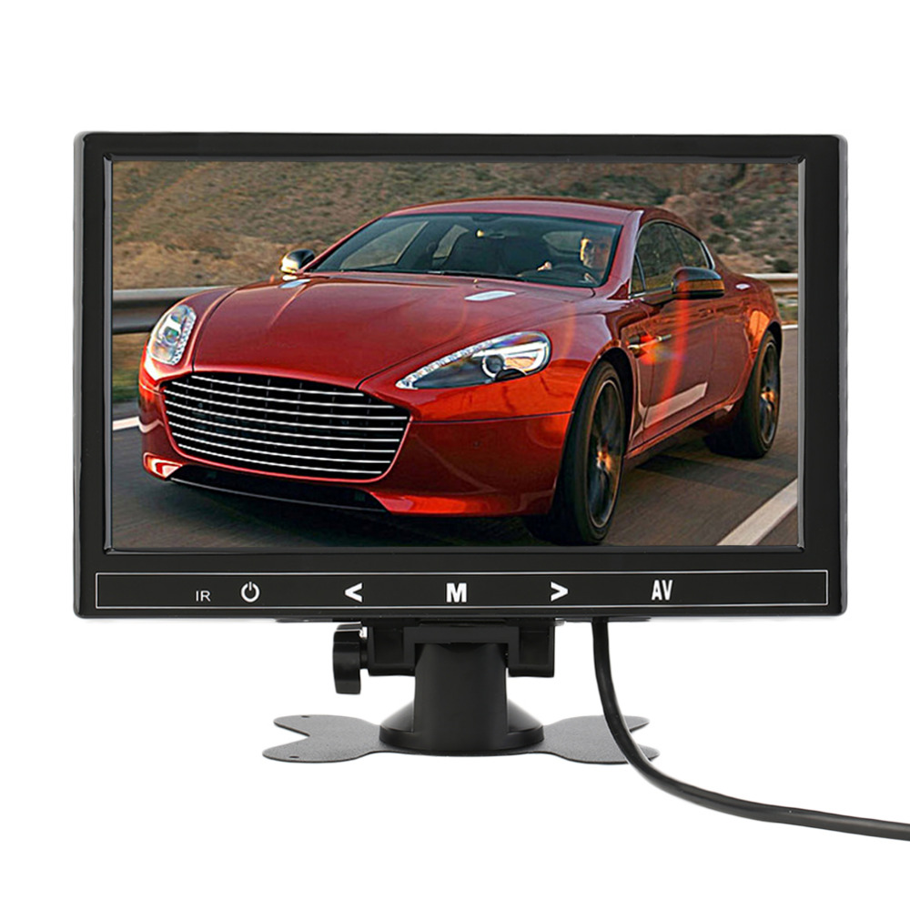 ФОТО 9 Inch Vehicle Mounted Desktop MP5 HD 1080P Player 800x480xRGB Digital Display Screen Dash Cam Recorder