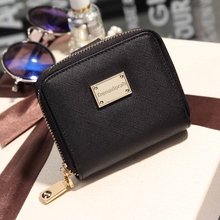 Wallet Female 2017 New Lady Short Women Wallets Mini Money Purses Fold PU Leather Bag Female Coin Purse Card Holder Small Wallet