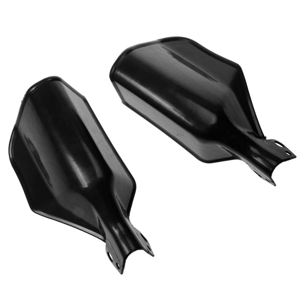 Guardas do guiador, universal motocicleta guiador mão escova guardas protetor handguards para yamaha dirt bike scooter preto