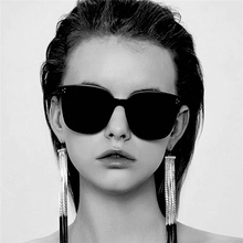 Retro Harajuku Mi Nail Sunglasses Korean version of the net red ins big box sunglasses fashion trend wild