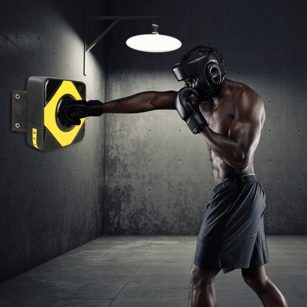 Wall Punch Boxing Bags Training Fitness Pad Focus Target Pad Wing Chun Boxing Fight Sanda Taekowndo Training Bag Sandbag