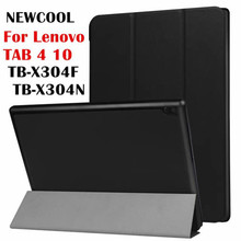 Case For Lenovo Tab4 10 ,KST Smart Leather Case  for Lenovo TAB 4 10 TB-X304F TB-X304N Flip Cover tablet Case Protective shell
