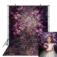 Fleur photographie toile de fond mariage peinture florale fond Photo Studio nouveau né bébé enfant Photophone Photocall