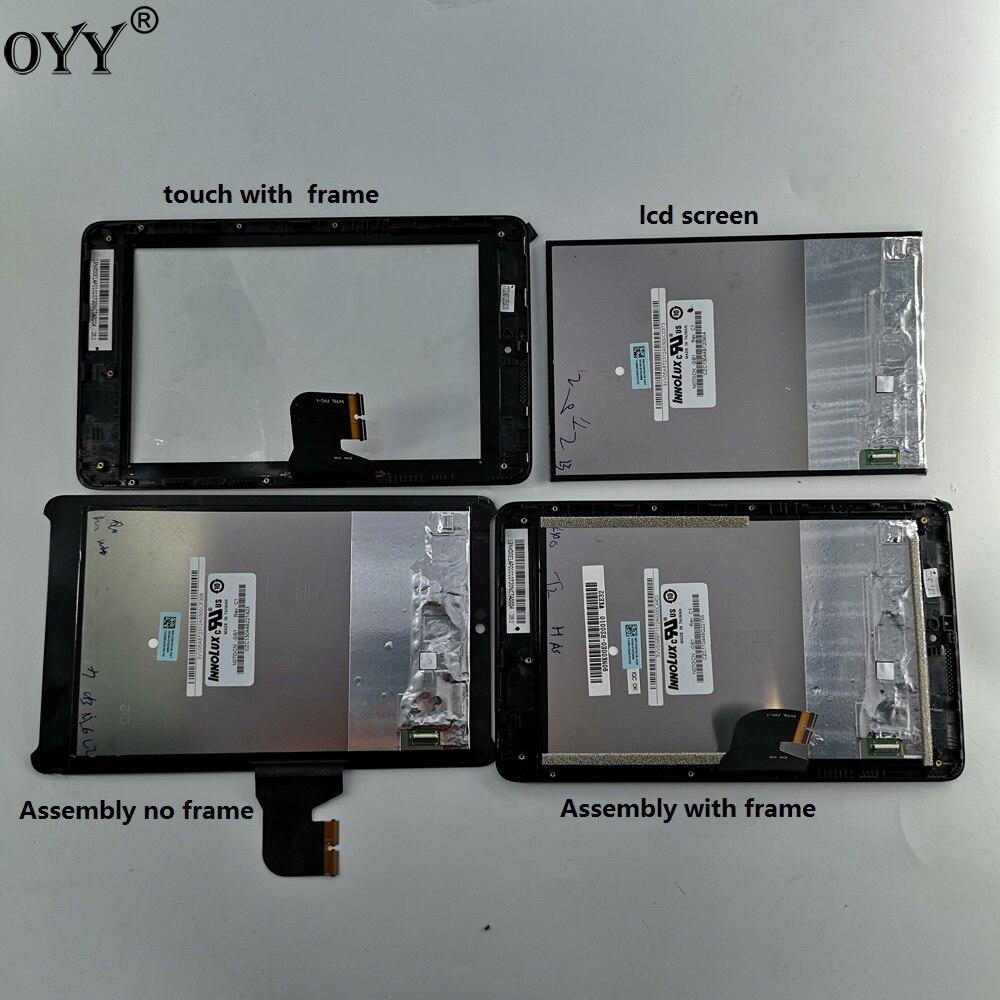 """for TOUCH SCREEN PER Asus Fonepad 7 K00E 5470L FPC-1 VETRO Digitizer 7,0/"""" Nero"""
