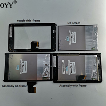 LCD display + Touch Digitizer Screen Assembly with frame For Asus Fonepad 7 ME372CG ME372 K00E