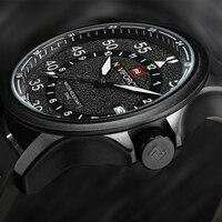 NAVIFORCE Mens Watches Brand Luxury Male Quartz Watch Men Waterproof Sports Military Watch Men Leather Clock
