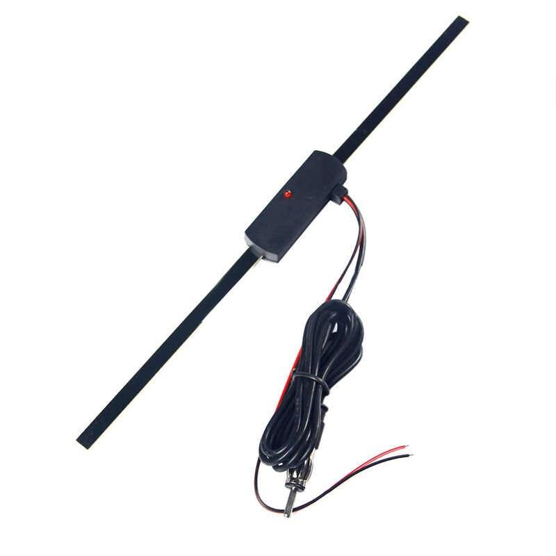 Auto universale Amplificata Antenna 12V Elettronico Accessori Stereo AM/FM Radio
