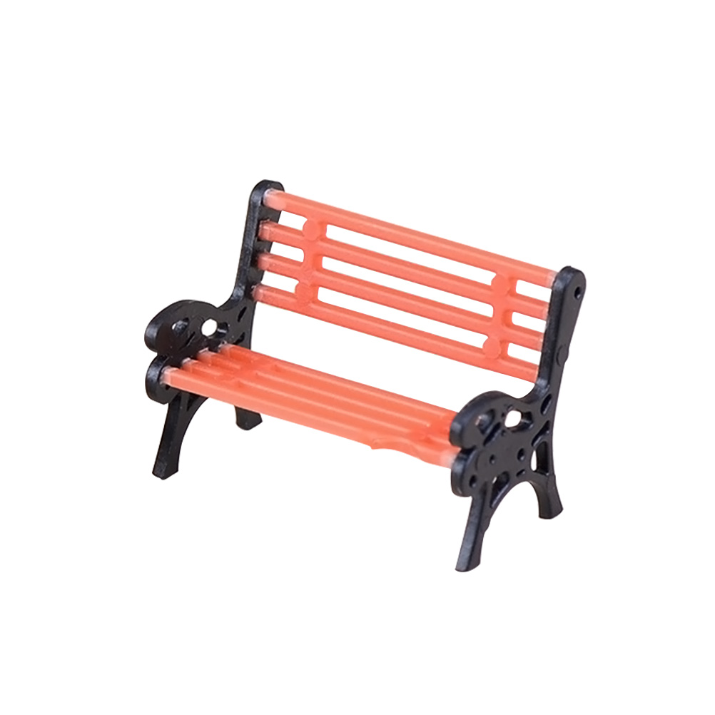 Brilliant Us 1 33 45 Off 1Pc Mini Park Bench Artificial Micro Landscape Miniature Seat Recliner Ornament Garden Chair For Craft Decor Dollhouse Home Diy In Camellatalisay Diy Chair Ideas Camellatalisaycom