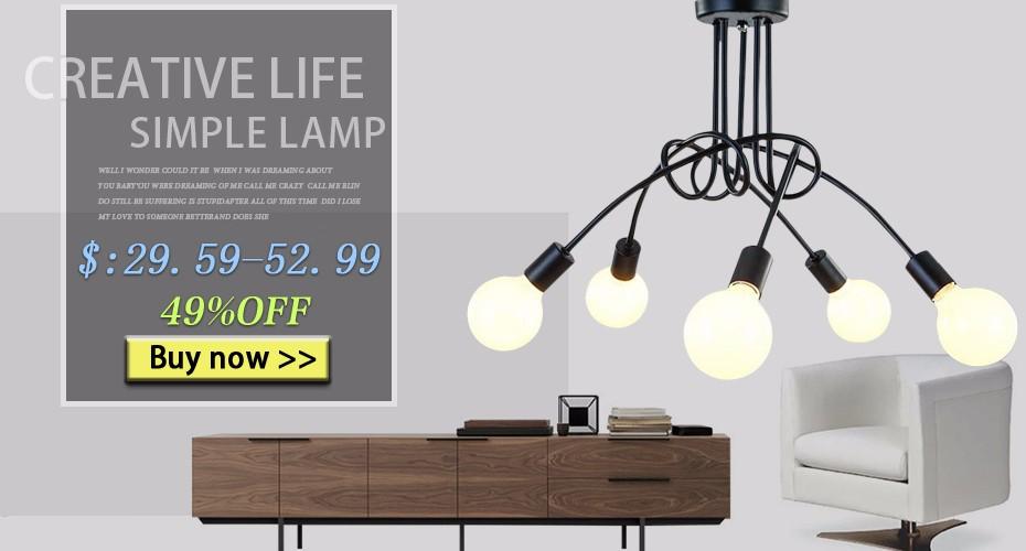 Nordic Pendant Lights Wood Aluminum Lampshade Industrial Lighting