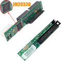 JM20330 Chip 3.5 SATA to IDE Connector SATA to IDE Adapter  Serial to Parallel Free Shipping 10000870