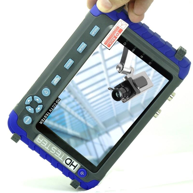 DHLFree IV8C 5 pouces LCD CCTV testeur moniteur 5MP AHD TVI 4MP CVI CVBS caméra testeur moniteur support PTZ contrôleur UTP câble Test